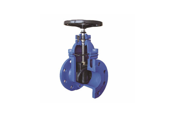 DIN3352 F4 GGG40 Gate Valve Blue Epoxy Powder 8 Inch CL150