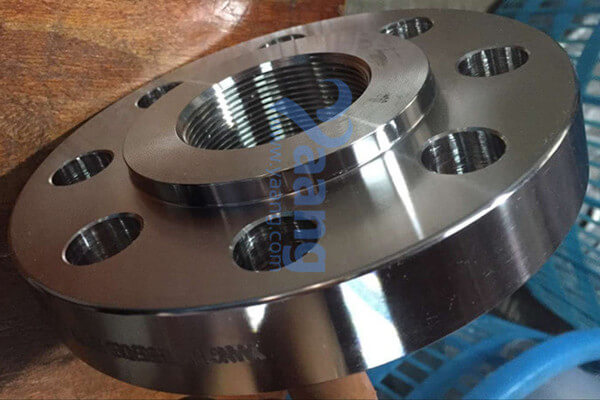 ASTM B16.5 A182 F53 Threaded Flange RF DN50 CL300