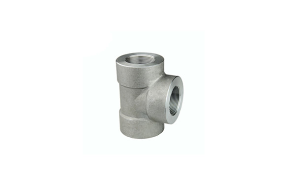ASTM A105 Threaded Tee NPT 2 Inch x 2 Incn 2000 LBS