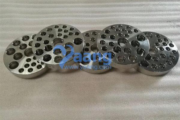Non-standard Flange: 2507 Custom Plate Flange DN100 Sch40S