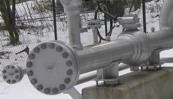 blind flange usage block off a pipeline - What is a blind pipe flange?