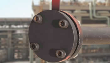blind flange usage close the end of pipe - What is a blind pipe flange?