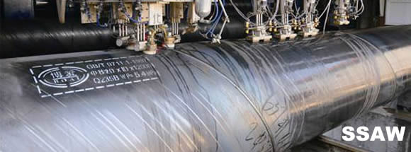 ssaw pipes banner - What are ERW steel pipes