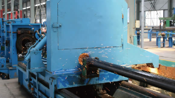 ERW cutting - What is ERW steel pipe