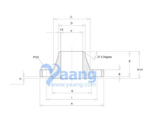 20191261849452902255 300x231 - Dimensions of ANSI/ASME B16.5 Class 900 Weld Neck Flange