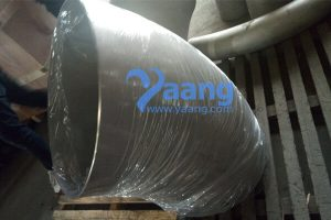 asme b16 9 astm b366 hastelloy c276 45 degree long radius welded elbow dn600 thk 4mm 300x200 - ASME B16.9 ASTM B366 Hastelloy C276 45 Degree Long Radius Welded Elbow DN600 THK: 4MM