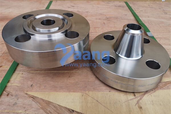 ASME B16.5 ASTM A182 Alloy 316L Weld Neck Ring-type Joint Flange DN40 SCHSTD Class2500