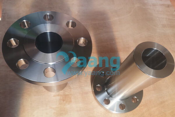 ASME B16.5 ASTM B564 Incoloy Alloy 800H Long Weld Neck Flange Raised Face DN50 Class300