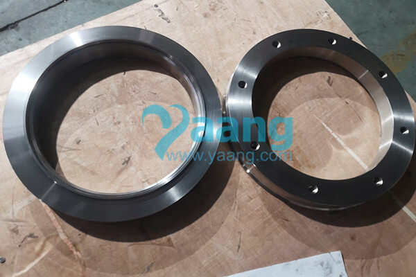 Nonstandard ASTM A240 SAF 2507 Ring Flange Flat Face 324mm X 260mm X 65mm