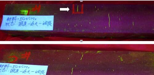 20210420101911 80061 - Determination and elimination of white spots in forging steel