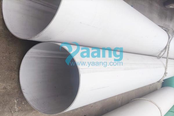 """astm a312 en 1 4404 welded pipe 16 sch10 6m - ASTM A312 EN 1.4404 Welded Pipe 16"""" SCH10 6M"""